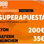 888Sport: Lyon - Bayern